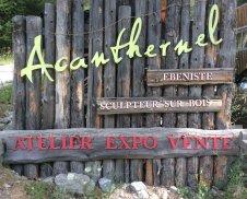 ACANTHERNEL - Floranne Debrune - Ebeniste - Queyras