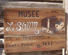 Le Musée du Soum, St Véran, Queyras