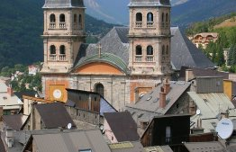 La collégiale Notre-Dame de Briançon, Crédit photo : LPLT - CC By SA