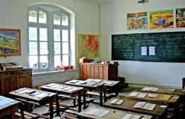 Le musée de l'école de Brunissard, Arvieux